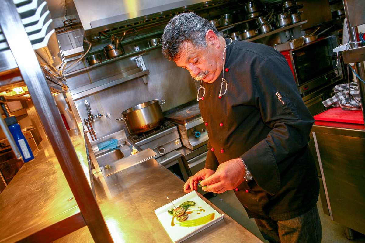 Chef Portrait Photography by Patroklos Stellakis