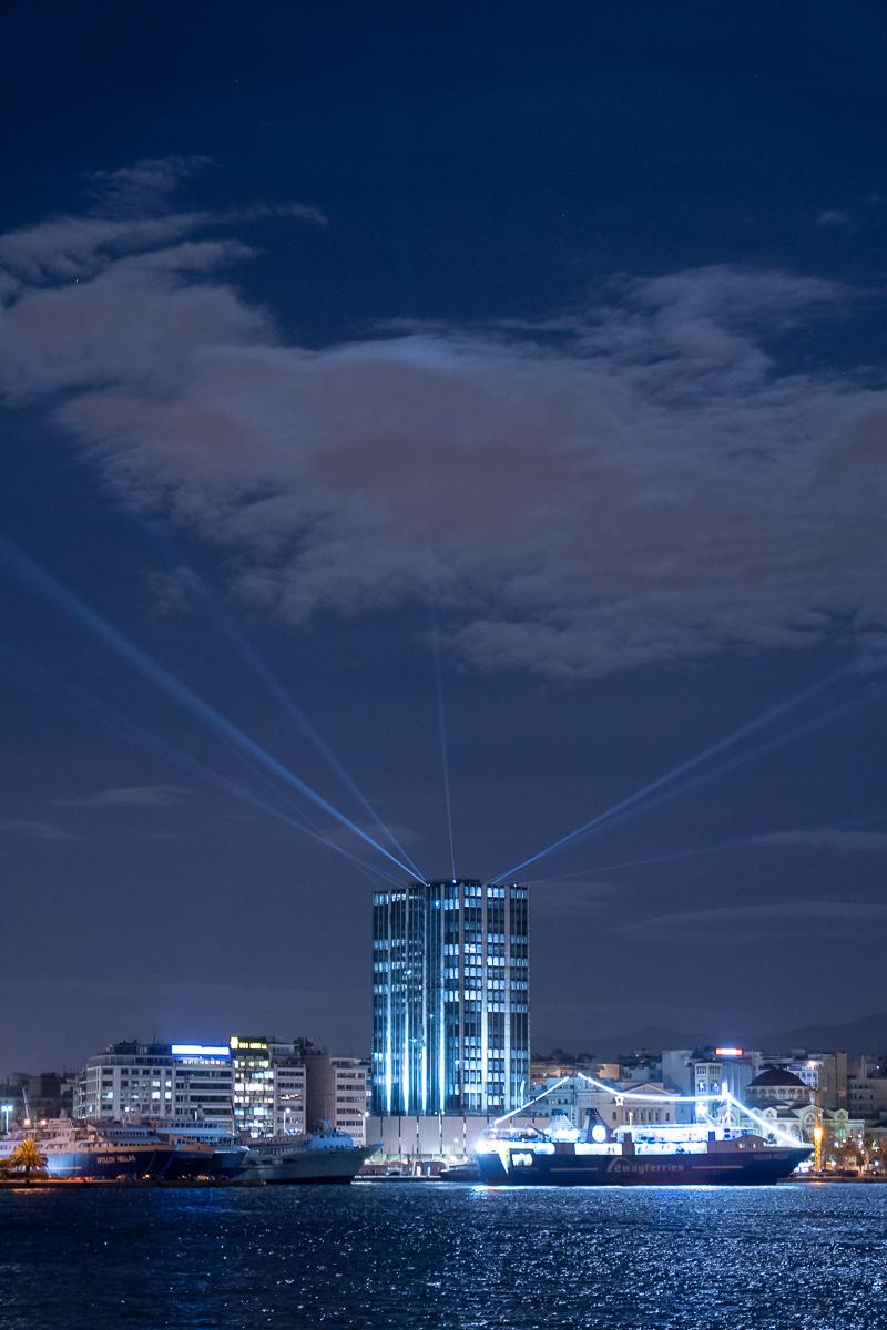 Piraeus Tower in Greece Photo by Patroklos Stellakis