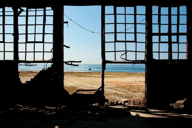 Drapetsona Fertilizer Factory in Greece 2006 by Patroklos Stellakis Photography