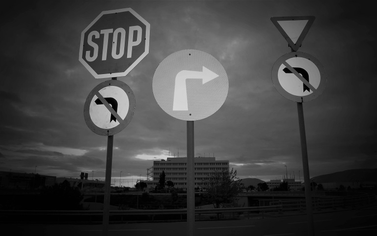 Black and White Urban Photography by Patroklos Stellakis